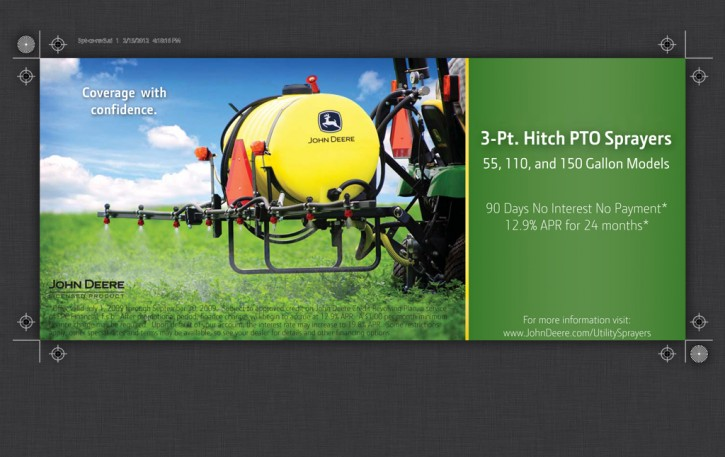 3-Pt. Hitch PTO Sprayer Mailer