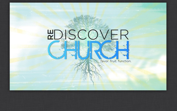 Rediscover Church Series Graphic